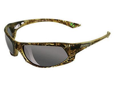 NIB MORMAII Model Itacare Mens Hand Painted Sports UV400 Sunglasses Tiger Yellow