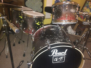 Pearl vision custom drums