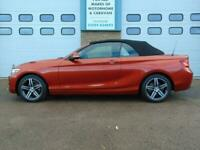 BMW 2 Series 218I SPORT AUTOMATIC CONVERTIBLE PETROL AUTOMATIC 2019/19