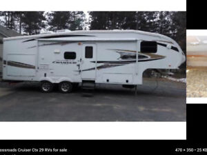 Roulotte   Fifth wheel  Cruiser 31.5 pieds   2011