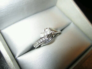 Peoples Diamond Ring w/Band - SALE OR TRADE!
