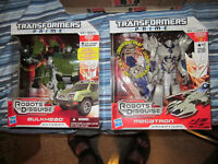 Transformers Prime Megatron and Bulkhead Voyagers MISB