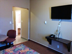 Hotel Rooms for Rent, Bonnyville AB, $50/night