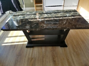 Brand new marble coffee table