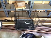 Dog cage used ty