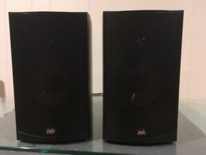 PSB Alpha B1 Audiophile Bookshelf Speakers Black Pair