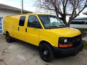 2008 Chevy Express van extended
