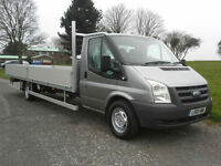 Ford Transit T350 3.5T XLWB 20ft (6.1m) Extra Long Dropside, New Body