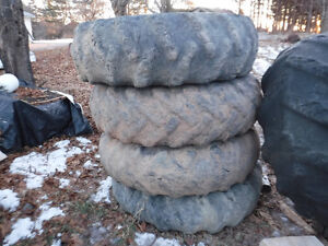 WANTED FORESTRY TIRES