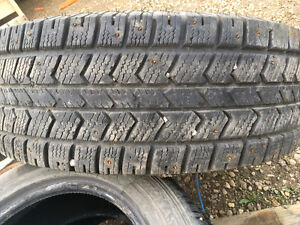 Four Used LT275/70R18 on Ford F-250/F350 Rims around 50% remaini