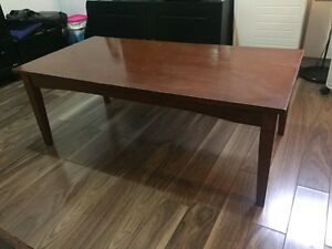 Solid wood coffee table - pick up!