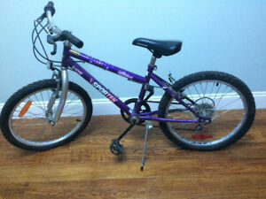 Kids bike excellent condition with Helmet - $20