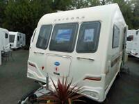 2012 Bailey Unicorn Seville - 2 Berth rear washroom Touring caravan