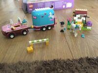 Lego friends horse box