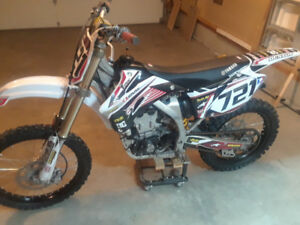 09 YZ 450F looking to trade for sled