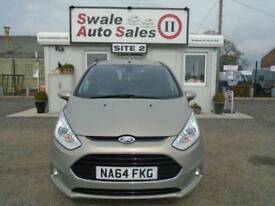 2014 FORD B-MAX 1.6 TITANIUM-FULL SERVICE HISTORY-VERY LOW MILEAGE-AUTOMATIC