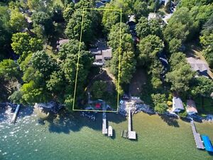 Stunning Renovated Waterfront Home on Lake Simcoe