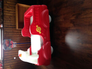 Fire truck toddler bed for sale