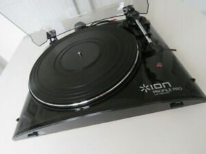 ION Profile Pro USB Turntable (manually calibrated to 2.7g by me