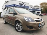 2014 Vauxhall ZAFIRA DESIGN NAV CDTI ECOFLEX Manual MPV