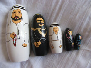 Arab Russian doll
