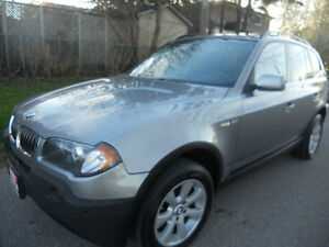 2005 BMW X3 SUV  Crossover 140 kms Loaded 6495