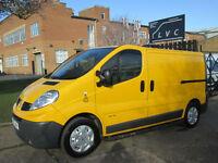 2010 Renault Trafic 2.0TD CDTI SL29DCI SWB 115BHP. ONLY 59K. FSH. AIRCON. PX