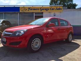 Vauxhall/Opel Astra Life 1.4 Petrol 2010 62,044 Miles In Red