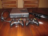 XBOX 360 250 GB KINECT + 7 GAMES!