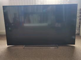 4K TV and sound bar