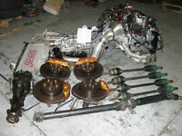 engine complete for sti v7 with trany 6 speed