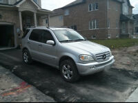 2005 Mercedes-Benz ML350 SUV, Crossover AWD