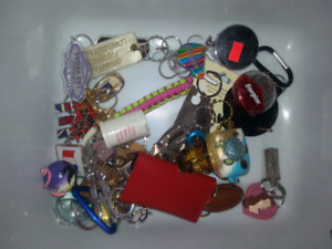 A bunch of cool keychains for $20