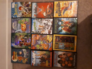 Various kids dvds. Great for small kids or a day care.