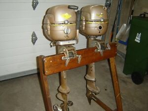 Vintage 5hp Viking Outboard motors