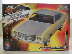 AMT/Ertl Model,Factory Sealed, Fast and Furious Monte Carlo