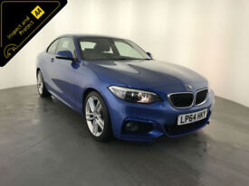2015 BMW 218D M SPORT COUPE DIESEL 1 OWNER SERVICE HISTORY FINANCE PX WELCOME