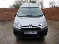 CITROEN DISPATCH 1200 2.0 HDI L2 H2 LWB HIGH ROOF 3 SEATS