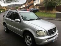 2004 Mercedes ML270 CDI Auto-12 months mot-service history-great economy-great value