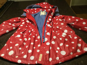Girls Hatley Rain Jacket Age 6