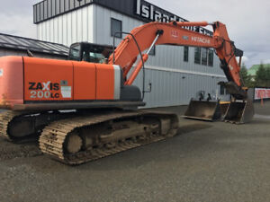 FOR RENT HITACHI ZAXIS 200 LC