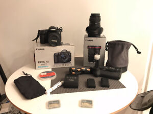 Canon EOS 7D Mark II Body + lenses and much more!