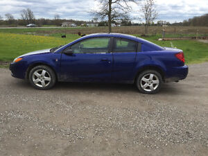 2006 Saturn ION Quad Coupe AS IS