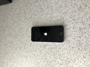 Just like new iPhone 5se with otter box case