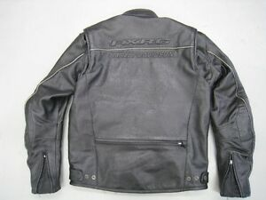 Harley Davidson FXRG black leather jacket