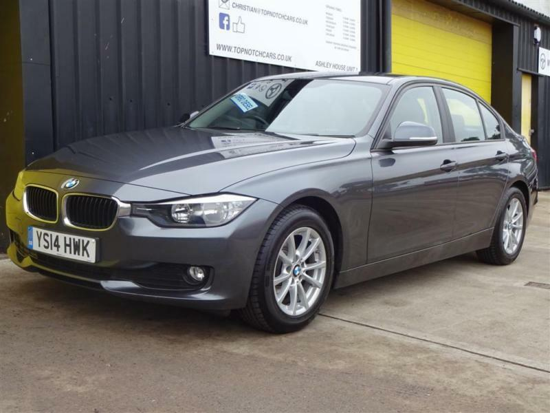 2014 (14) BMW 320d EfficientDynamics Business Diesel *Nav & Lthr* £20 road tax