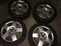 Audi A4/ Vw T4 Alloy wheels + tyres