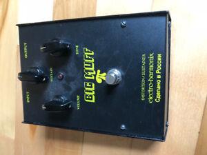 Big muff Black Electro Harmonix