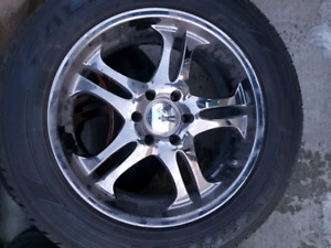 275 55 r20 falken tires and rims with lugs