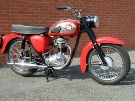 BSA C15 Star America 1965 249cc Lots of Work Done